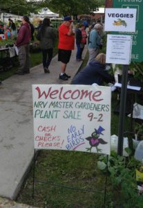 NRVMGA Annual Spring Plant Sale a Success!